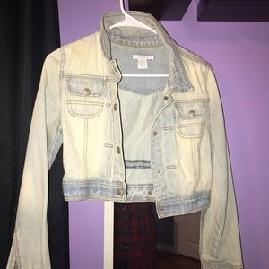 Jackets & Blazers - Charlotte Rousse Jean Jacket